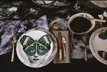 Butterflies and other Insect dining sets