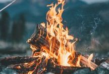 G L A M P I N G / bonfires, s'mores, hikes & camping - but with a touch of glam