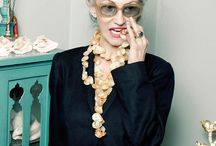 Ageless / Women over 50 whose style is reflective of their travels, life experience & wisdom. Features Linda Rodin & Lucinda Chambers frequently ... these icons have pearls that should be shared!