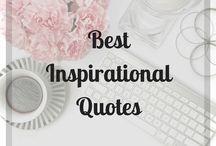 Best Inspirational Quotes / The best motivational and inspirational quotes that will keep you moving!  #inspirationalquotes #motivationalquotes #quotes #motivationalmonday #motivationmonday #getrich #becomerich #inspire #motivate #goals #successquotes #moneyquotes