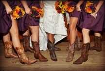 Rustic Weddings / There can't be a more relevant board for us. Rustic weddings have grown and popularity in the past several years and I don't think it's going anywhere.