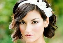 Wedding Hair & Makeup  / You guessed it...wedding day beauty tips and ideas.