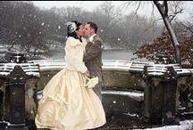 Winter Weddings / Ideas for Christmas or winter weddings.