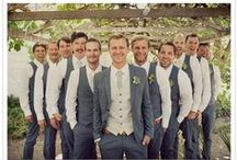 Groom & Groomsmen / Fashion trends for those handsome fellows.