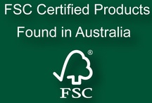 FSC Australia Certified Products / FSC Certified Products, that can be found in Australia