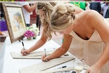 Guest Book Ideas for Weddings / Who wants a plain guest book with tons of empty pages.  Here are some creative ideas that you will want to look back on for years to come.
