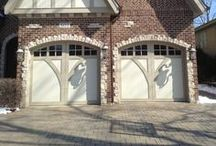 Wood Carriage House Garage Doors