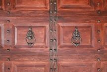 Garage Door Decorative Hardware / Give your garage door some character with some fun and stylish decorative hardware.