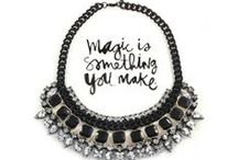 Statement Necklaces / What's your statement?