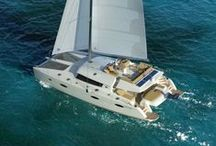Fountaine Pajot Catamarans / The company was founded in 1976 by Jean François Fountaine and three partners, near La Rochelle, in France, of course. After that they extended and moved to Aigrefeuille. They start building catamarans in 1981.