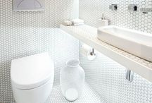 Bathroom ideas for small places / Decor