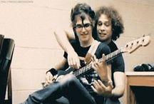 Mikey Way and Ray Toro
