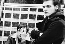 Mikey Way  and Frank Iero