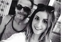Mikey Way and Kristin Blanford