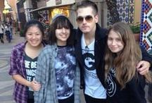 Mikey Way with Fans