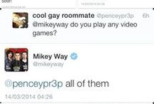 Mikey Way Twitter