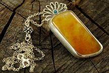 Amber jewelry / Amber Jewelry by me :)