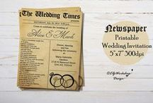 Wedding Invitations DIY / Wedding invitations for your special day! Send me message for details!