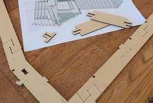 CNC Design / CNC machining. CNC Wikihouse design. CNC production. CNC furniture