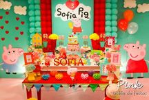 """""""Peppa Pig"""" Party Theme"""