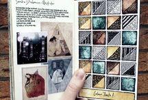 sketchbook / moleskine / hobonichi …