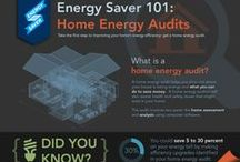 Saving Energy at Home / A Home Energy Audit is the first step towards learning how your home is losing or wasting energy!