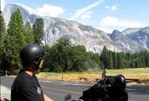 YOSEMITE National Park / Half Dome, Glacier Point, Tioga Pass, Tuolumne Meadows... Come ride through the 8th wonder of the World with Pashnit Motorcycle Tours