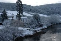 Winter Wonderland / Beautiful wintery scenes at Kate & Tom's Holiday Houses