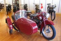 Solvang Motorcycle MUSEUM / The Solvang Motorcycle Museum, located in Solvang, California, displays a collection of vintage and rare motorcycles as well as European race bikes.  The collection is quite broad with something for everyone, ranging from a 1910 FN to the present, and across all makes. The emphasis is tilted toward racing motorcycles. At the museum, you will find names such as AJS, BMW, Ducati, Gilera, Matchless, Moto Guzzi, MV, Norton, Triumph, Velocette and Vincent.