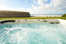Hot Tub Dreams / Amazing Kate & Tom's Big Cottage Company holiday houses with luxurious Hot Tubs