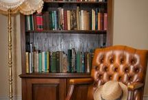 Get lost in a book / The Libraries at kate & tom's