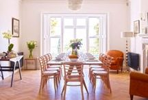 Delectable Dining / Get inspiration from some of kate & tom's most wonderful dining rooms and ideas for food