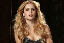 Claire Holt, aka Rebekah Mikaelson / If you don't shut your mouth the next thing to come out of it will be your teeth.