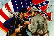 CIVIL WAR / North v south war history / by Cindy Snyder