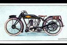 QUADRANT Motorcycles / 1901-1928 vintage Quadrant Motorcycles: Quadrant was one of the earliest British motorcycle manufacturers, established in Birmingham in 1901. Famous for their big singles, Quadrant pioneered many innovations that proved important for motorcycle development but struggled after the First World War and the company was wound up in 1928