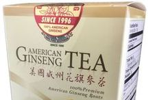 American Ginseng Tea / Tastes great. Can be bought online at Amazon.  20 Tea Bags, Made from Wisconsin Ginseng Roots http://www.amazon.com/dp/B00SYY11TS
