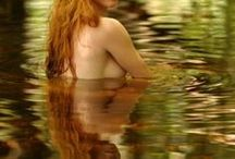 Water's Edge.... / Mermaids, Water Nymphs & Dryads, Bathing Beauties.