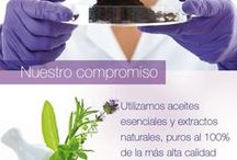 INGREDIENTES / Materia prima de los productos SWISS JUST.
