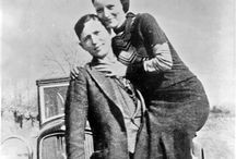 Bonnie & Clyde & gang & their family / Their life & crime death  / by Cindy Snyder
