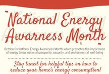National Energy Awareness Month October 2015 / October is National Energy Awareness Month, a national effort to underscore how central energy is to our national prosperity, security, and environmental well-being.