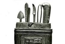 Knife case / sheath (késtartók)