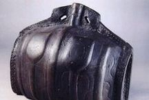 Water flask / Bottle / Costrel (ivó tasakok)