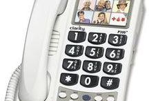 Phones (Landline) / These are different types of landline phones that have different adaptions like large print keys, voice activation, and more.