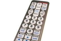 TV Remotes / Various remote control options from voice activated to large buttons can make your TV easy to use.