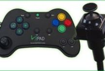 Adapted Video Games / There are many controllers and technologies that give the ability to play video games to those with disabilities.