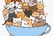 kitty cuteness abounds / kitty cats