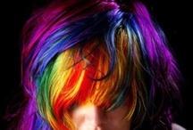 Cabelleras de colores
