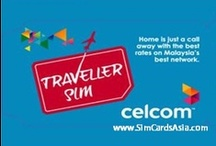 Malaysia SIM Card / Malaysia SIM Card for the Celcom Network with excellent network coverage across Malaysia and Fast 3G Internet access.