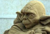 Art - Sand Sculptures