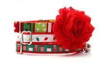 holiday cats / Chic, stylish Holiday, Christmas & Hanukkah Pet Collars for Cats & Kittens + holiday pet items and funnies